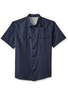 ae3ffd6d666 G.H. Bass & Co. Men's Size Big and Tall Explorer Fancy Short Sleeve Button  Down