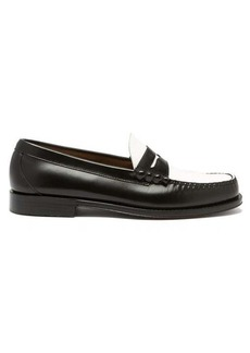 G.H. Bass & Co. Weejuns Larson colour-block leather penny loafers