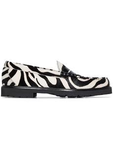 G.H. Bass & Co. Weejun 90 Larson zebra print loafers