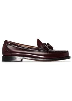 G.H. Bass & Co. Weejun Larkin tassel-trimmed leather loafers