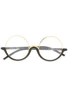 Gianfranco Ferré 19900s round frame glasses
