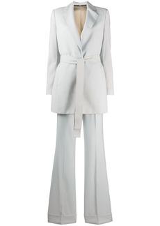 Gianfranco Ferré 1990s tie front two-piece suit