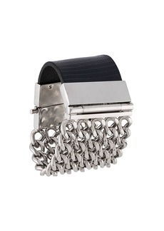 Gianfranco Ferré 2000s five-strand chain bracelet