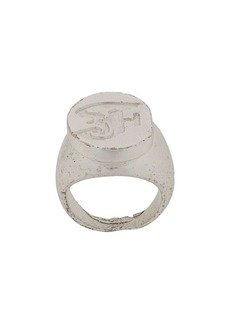 Gianfranco Ferré 2000s monogram ring
