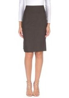 FERRE' - Knee length skirt