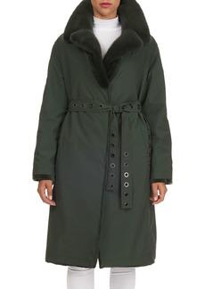 Gianfranco Ferré Reversible Mink-Fur Storm Anorak Jacket