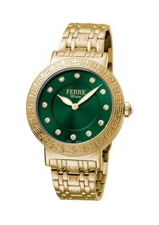 Gianfranco Ferré Women's 38mm Stainless Steel Watch with Bracelet
