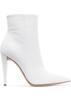 Gianvito Rossi 100 Leather Ankle Boots