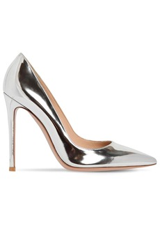 Gianvito Rossi 100mm Gianvito Metallic Leather Pumps