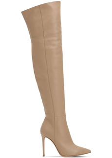 Gianvito Rossi 100mm Over The Knee Nappa Leather Boots