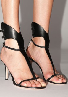 Gianvito Rossi 105mm Lvr Exclusive Leather Sandals