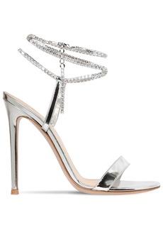 Gianvito Rossi 105mm Metallic Leather Sandals