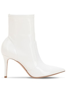 Gianvito Rossi 85mm Stretch Vinyl Ankle Boots