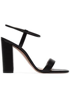 Gianvito Rossi Black 100 Leather Sandals