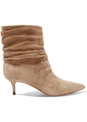 Gianvito Rossi Cecile 55 Suede Ankle Boots