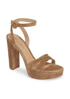 Gianvito Rossi Ankle Strap Platform Sandal (Women)