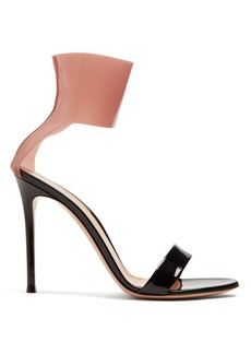 Gianvito Rossi Answers 100 patent-leather sandals