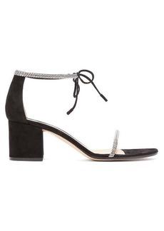 Gianvito Rossi Aria 60 crystal-embellished block-heel sandals
