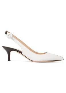 Gianvito Rossi Arleen 55 leather slingback pumps