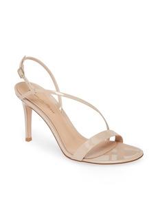 Gianvito Rossi Asymmetrical Strap Sandal (Women)