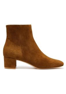 Gianvito Rossi Block-heel 45 suede ankle boots