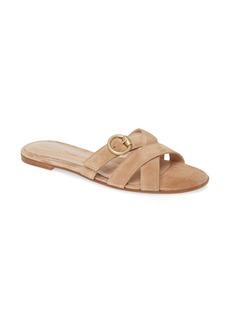Gianvito Rossi Buckle Strap Sandal (Women)