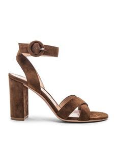 Gianvito Rossi Camoscio Sandals