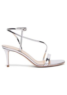 Gianvito Rossi Carlyle 70 patent-leather sandals