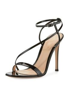 Gianvito Rossi Carlyle Patent Strappy 105mm Sandal