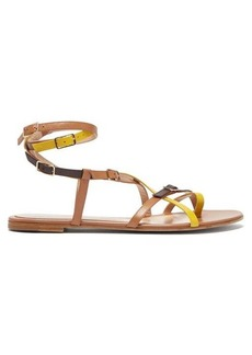 Gianvito Rossi Cassandra multi-strap leather sandals