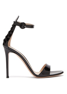 Gianvito Rossi Corset 105 lace-up patent-leather sandals