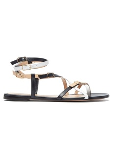 Gianvito Rossi Cross-strap leather sandals