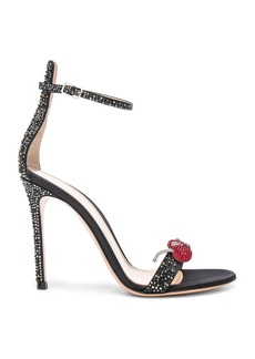 Gianvito Rossi Crystal Embellished Ankle Strap Sandals