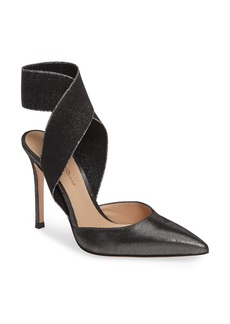 Gianvito Rossi Elastic Ankle Wrap Pump (Women)