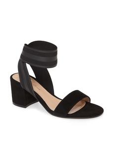 Gianvito Rossi Elastic Ankle Wrap Sandal (Women)
