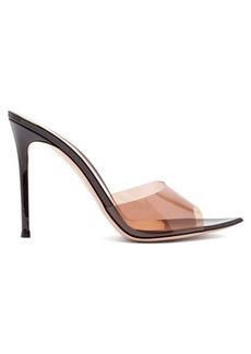 Gianvito Rossi Elle 105 patent-leather mules