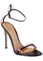 Gianvito Rossi G String 105 Plexi & Patent Sandal
