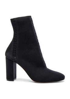 Gianvito Rossi Knit Vires Block Heel Booties