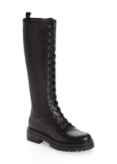 Gianvito Rossi Lace-Up Knee High Boot (Women)