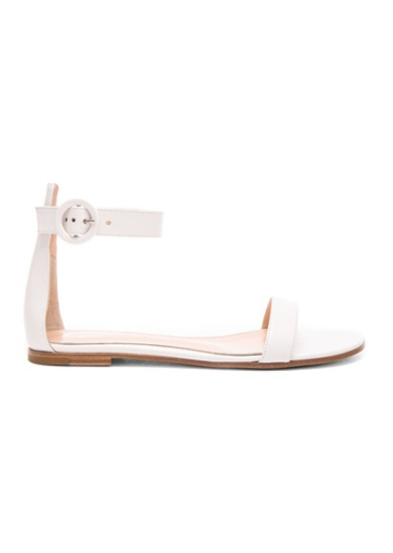 Gianvito Rossi Leather Ankle Strap Sandals