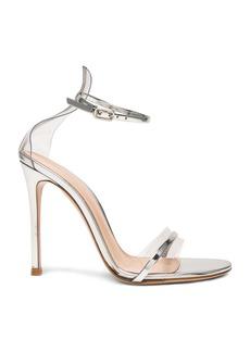 Gianvito Rossi Leather Plexi G-String Heels