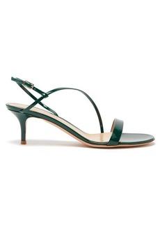 Gianvito Rossi Manhattan 55 patent-leather sandals