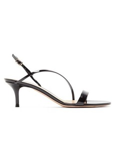 Gianvito Rossi Manhattan 55 patent leather sandals