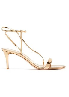 Gianvito Rossi Manhattan 70 patent-leather sandals