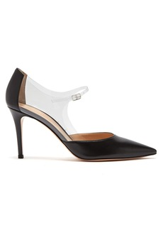 Gianvito Rossi Mary Jane 85 leather pumps