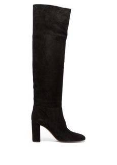 Gianvito Rossi Melissa 85 knee-high suede boots