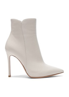 Gianvito Rossi Nappa Leather Levy Ankle Boots