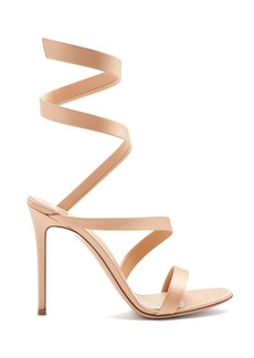 Gianvito Rossi Opera 105 satin sandals