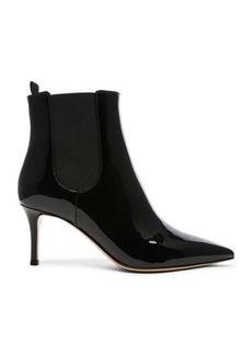 Gianvito Rossi Patent Leather Evan Stiletto Ankle Boots
