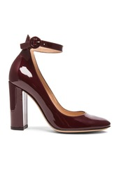 Gianvito Rossi Patent Leather Mary Jane Heels